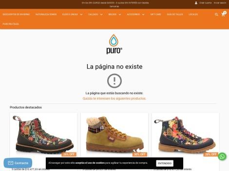 Tienda online de PURO Bolsos y Zapatillas | eShop Oficial
