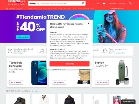 Tienda online de Tienda Mia Argentina ✅