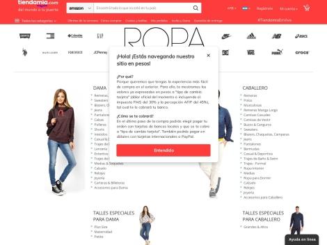 Tienda online de Ropa y Accesorios en Tienda Mia