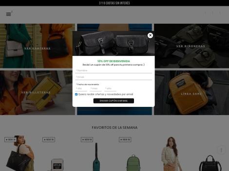 Tienda online de Carteras SANTACLARA