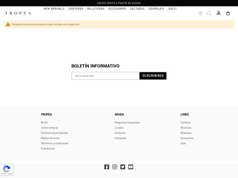 Tienda online de Sandalias y Zapatos de Cuero de Mujer [Tienda Tropea]