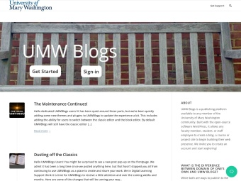 UMW Blogs