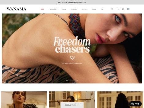 Tienda online de Wanama Store