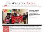 The Wesleyan Argus
