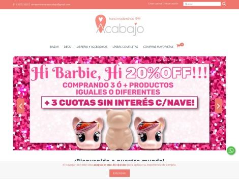 """Tienda online de Shop Online de Regalos """"Acabajo"""""""