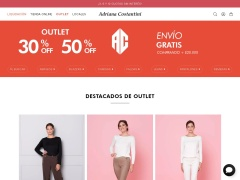 Venta online de Outlets online en Outlet de Adriana Costantini