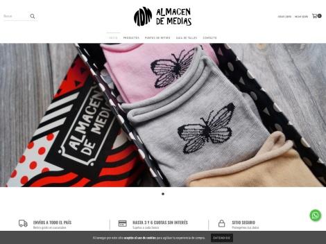 Tienda online de Almacén de Medias