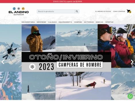 Tienda online de El Andino Outdoor