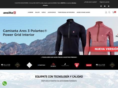 Tienda online de Ansilta