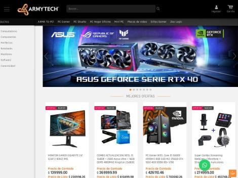 Tienda online de Armytech Hardware