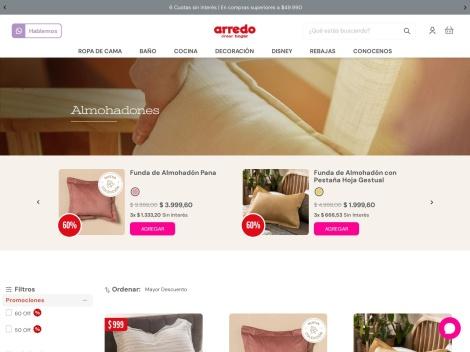 Tienda online de Almohadones Decorativos [Tienda Arredo]