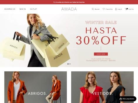 Tienda online de Tienda Online de Awada – Marca de Ropa
