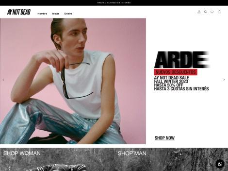 Tienda online de Ay not Dead