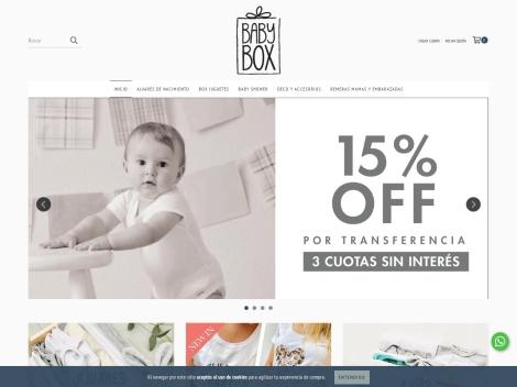 Tienda online de Baby Box