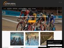 Ballerupsuperarena.dk er lavet med fokus på arenaens mange anvendelsesmuligheder, og kommende arrangementer vises via slider på forsiden.
