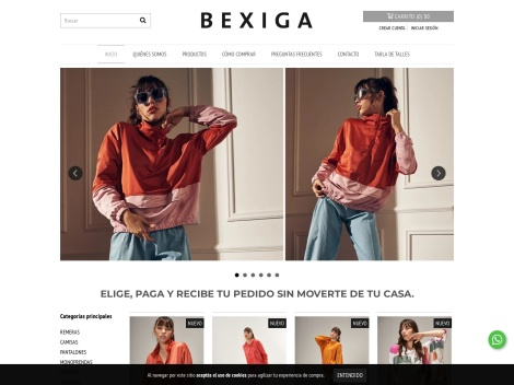 Tienda online de Bexiga