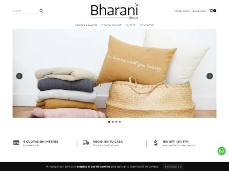 Tienda online de BHARANI