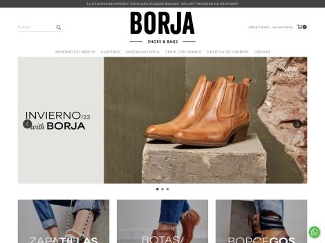 Tienda online de BORJA