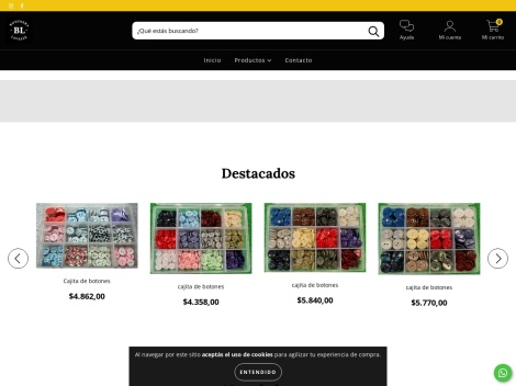 Tienda online de Botonera Lavalle