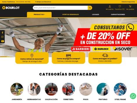 Tienda online de Bourlot Ferreteria