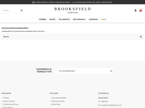 Tienda online de Brooksfield Store