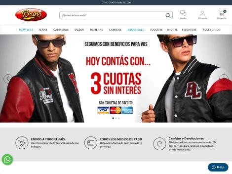 Tienda online de Tienda Bross (Argentina)