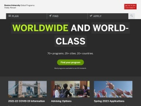Boston University International Programs