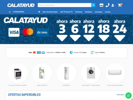 Tienda online de Calatayud Rosario