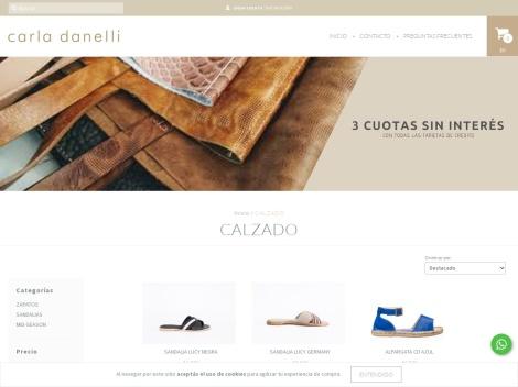 Tienda online de Calzado de Carla Danelli