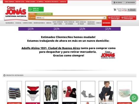 Tienda online de Casa Jonas (Tienda Online Mayorista)