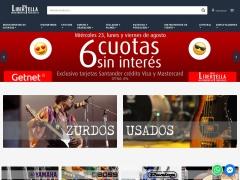 Venta online de Instrumentos Musicales en Casa Libertella