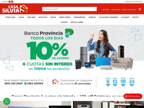 Tienda online de Casa Silvia