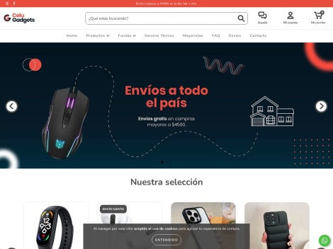 Tienda online de Celu Gadgets