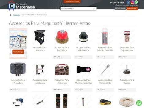 Tienda online de Centro de Materiales