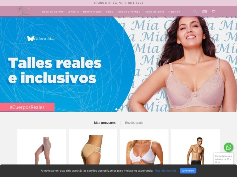 Tienda online de Chiara Mia