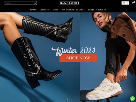 Tienda online de Zapatos Clara Barceló