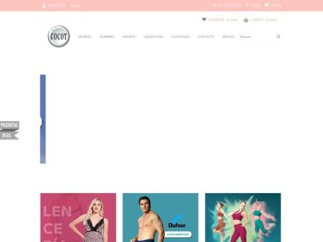 Tienda online de Cocot Argentina (Mayorista)