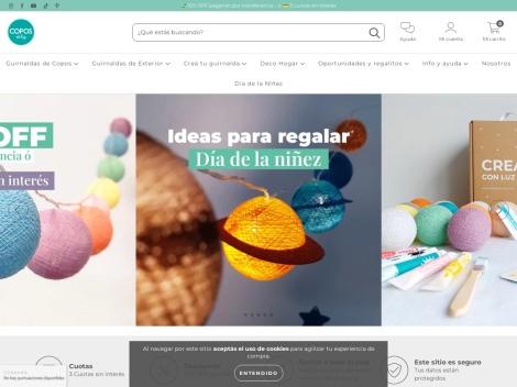 Tienda online de Copos de Luz