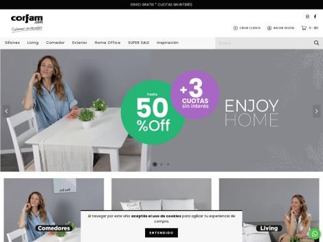 Tienda online de Corfam Muebles