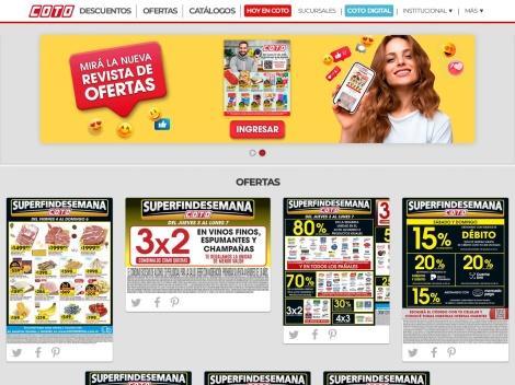 Tienda online de Coto Digital