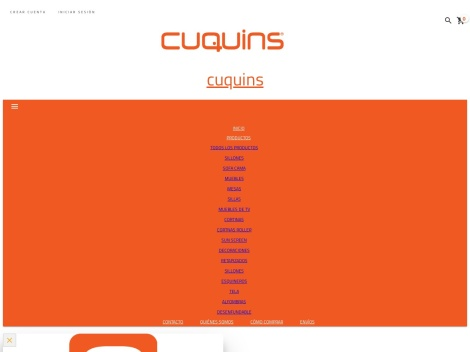 Tienda online de Cuquins