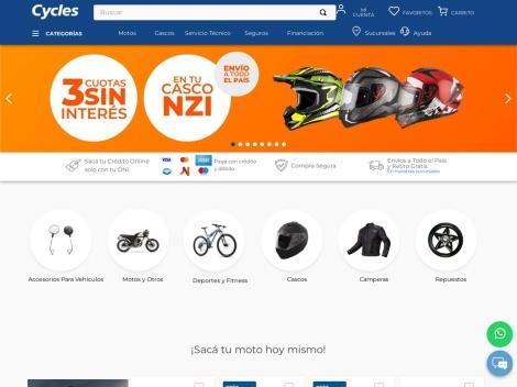 Tienda online de Cycles – Tienda de Motos