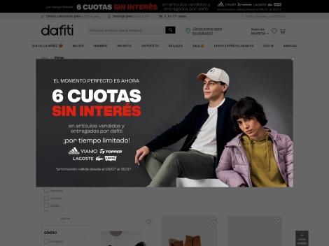 Tienda online de Dafiti Argentina