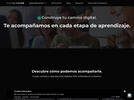 Tienda online de Cursos de Digital House