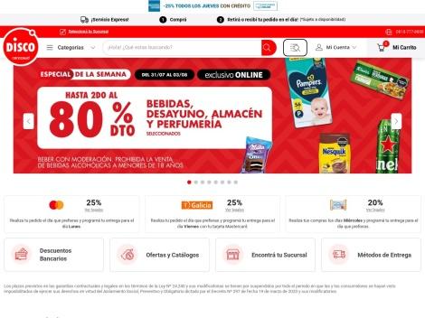 Tienda online de Disco Virtual: Compras Online
