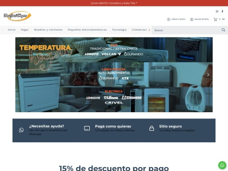 Tienda online de Don José Hogar