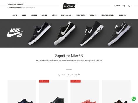 Tienda online de Zapatillas en Drifters