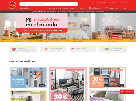 Tienda online de Easy Home Center de Argentina