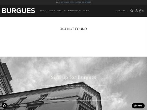 Tienda online de Outlet de El Burgués