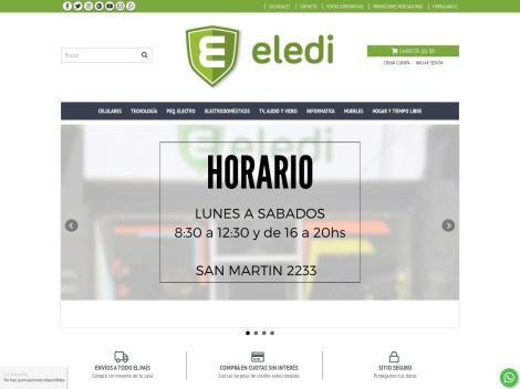 """Tienda online de Venta de Artículos para el Hogar """"Eledi"""""""